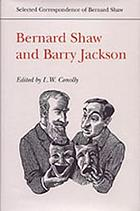 Bernard Shaw and Barry JacksonBernard Shaw and Barry Jackson