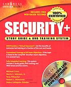 Security+ study guide & DVD training system