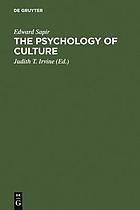 The psychology of culture : a course of lectures