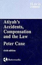 Accidents, compensation and the law