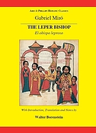 The leper bishop = El obispo leproso