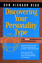 Discovering your personality type : the enneagram questionnaire