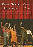 Zora Neale Hurston collected plays