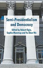 Semi-presidentialism and democracy