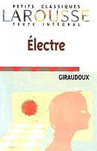 Electre; pièce en deux actes