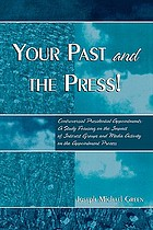 Your past and the press! : controversial presidential appointments : a study focusing on the impact of interest groups and media activity on the appointment process