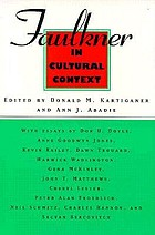 Faulkner in cultural context : Faulkner and Yoknapatawpha, 1995