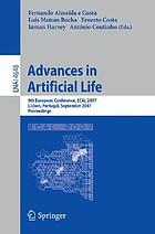 Advances in artificial life 9th European conference, ECAL 2007, Lisbon, Portugal, September 10-14, 2007 : proceedings
