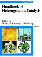 Handbook of heterogeneous catalysisHandbook of heterogeneous catalysisHandbook of heterogeneous catalysisHandbook of heterogeneous catalysisHandbook of heterogeneous catalysis