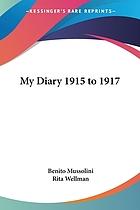 My diary : 1915-17