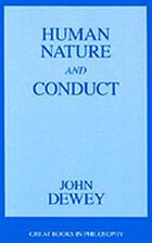 Human nature and conduct : an introduction to social psychology