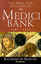 The rise and decline of the Medici Bank, 1397-1494