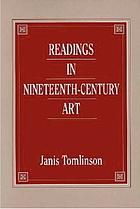Readings in nineteenth-century art