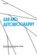 Sab ; and, Autobiography