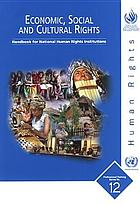 Economic, social, and cultural rights : handbook for national human rights institutions