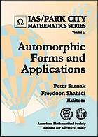 Automorphic forms and applications