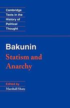 Statism and anarchy