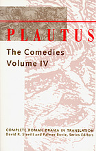 Plautus : the comedies