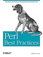 Perl best practicesDe l'art de programmer en Perl