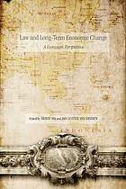 Law and long-term economic change : a Eurasian perspective