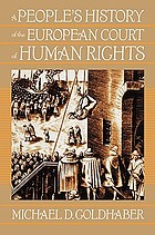 A people's history of the European Court of Human Rights