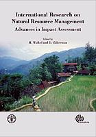 International research on natural resource management : advances in impact assessment