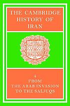 The Cambridge history of Iran
