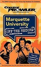 Marquette University : Milwaukee, Wisconsin