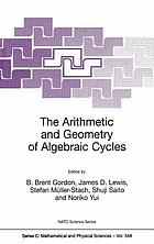 The arithmetic and geometry of algebraic cycles : [proceedings of the NATO Advanced Study Institute on The Arithmetic and Geometry of Algebraic Cycles, Banff, Alberta, Canada, June 7-19, 1998.]