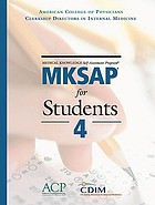 MKSAP for students 4 : medical knowledge self-assessment program