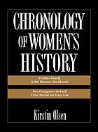 Chronology of women's history