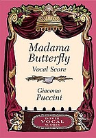 Madam Butterfly : a Japanese tragedy