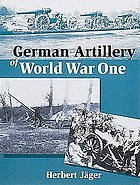 German artillery of World War One