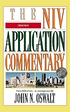 Isaiah : the NIV application commentary : from biblical text- to contemporary life