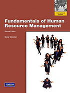 Fundamentals of human resource management : content, competencies, and applications