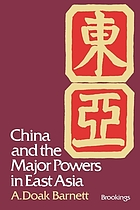 China and the major powers in East Asia