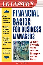J.K. Lasser's financial basics for business managers