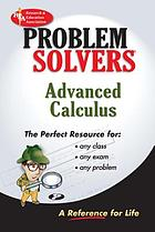 The Advanced calculus problem solver