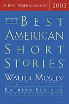 The best American short stories, 2003
