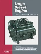 Large diesel engine service manual