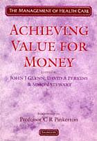 Achieving value for money