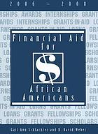 Financial aid for African Americans, 2006-2008