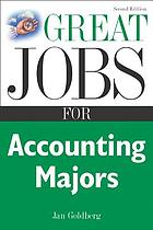 Great jobs for accounting majors