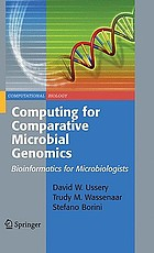 Computing for comparative microbial genomics bioinformatics for microbiologists