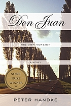 Don Juan : his own version