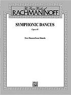 Symphonic dances : opus 45