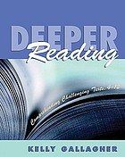 Deeper reading : comprehending challenging texts, 4-12