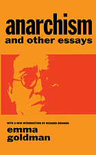 Anarchism : and other essays
