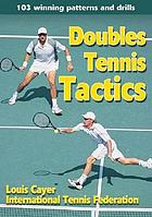 Doubles tennis tactics