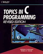 Topics in C programming